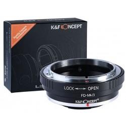 Canon FD Micro 4/3 m4/3 K&F...