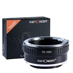 Pentax K PK Sony NEX K&F...