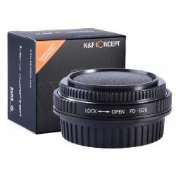 Canon FD Canon EOS EF K&F...