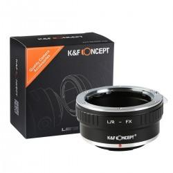 Leica R Fuji X PRO K&F Concept