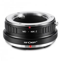 Minolta D MD Nikon Z K&F