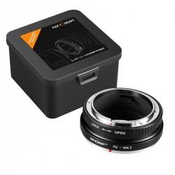 Canon FD Nikon Z K&F