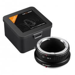 Contax Yashica C/Y Nikon Z K&F