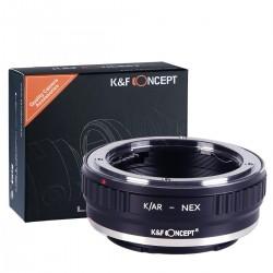 Konica AR K/AR Sony NEX K&F